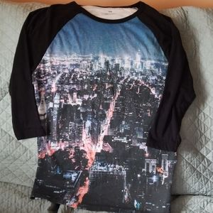 Concert style shirt